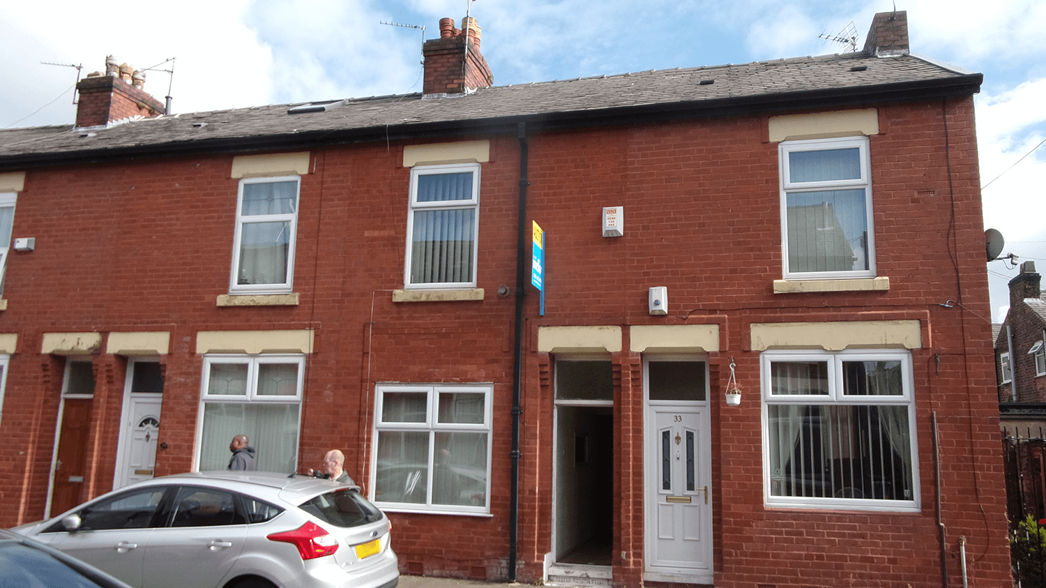 Manchester terraced home