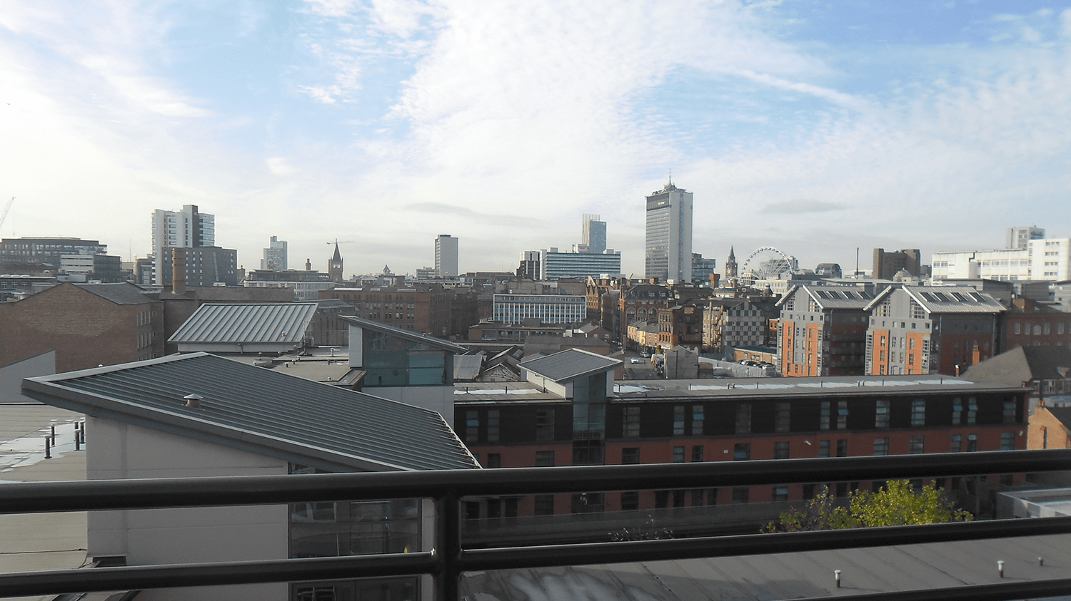 Manchester property view